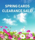 Clearance greeting cards