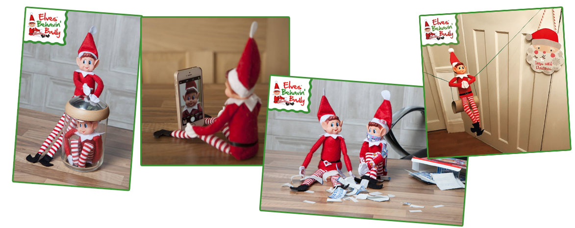 Elves Behavin badly collage 2