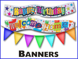 wholesale banners - Party Products