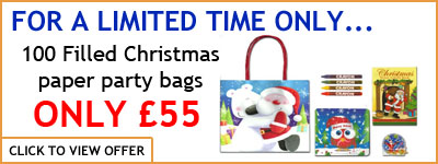 Filled Xmas bag banner