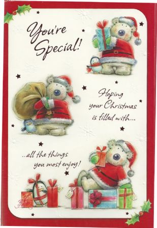 Someone special christmas cards me to you someone special christmas card for someone sp pictures to pin on pinterest thepinsta m4hsunfo Gallery