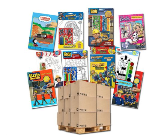 1200 Assorted activity sets