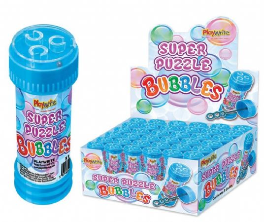 Display box of 36 Bubble tubs with maze 50ml