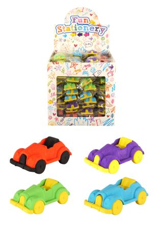 108 Classic car shaped erasers TO CLEAR