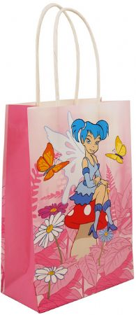 Pack of 24 Medium fairy paper bags with twist handle TO CLEAR