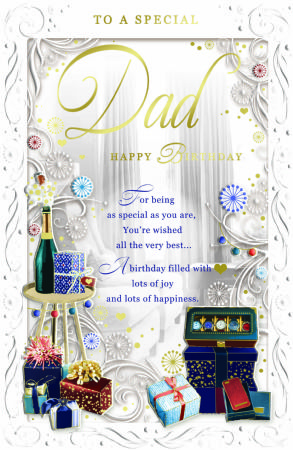Large Birthday Cards Dad CLEARANCE PRICE