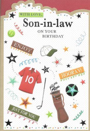 Simon Elvin Birthday Cards Son In Law