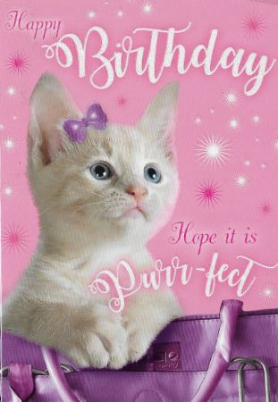 Heartstrings Pet Themed Open Birthday Cards