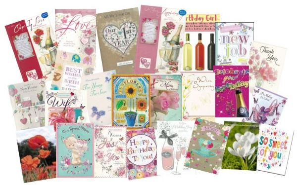 Starter Pack Of  Large And Standard Cards Occasions And Celebrations Wgc Florist Starter