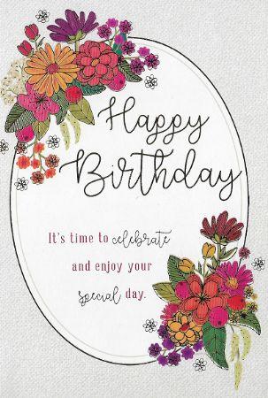 Heartstrings Wholesale Open Female Birthday Cards Open Birthday