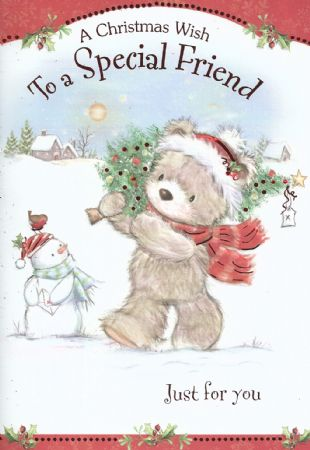 Iparty Cute Christmas Cards Special Friend Wholesale