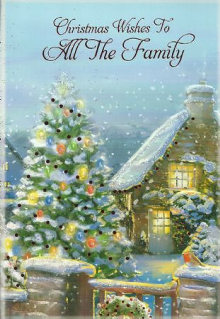 Iparty traditional christmas cards to all family wholesale iparty traditional christmas cards to all family m4hsunfo
