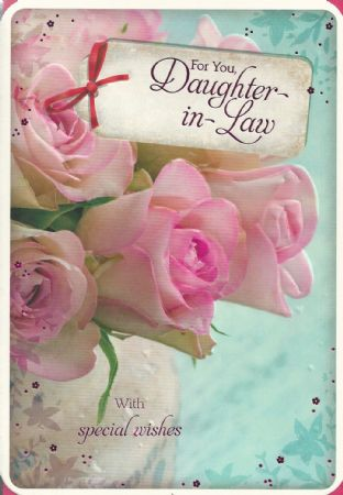 Iparty Birthday Cards Daughter In Law Female Relations And Friends