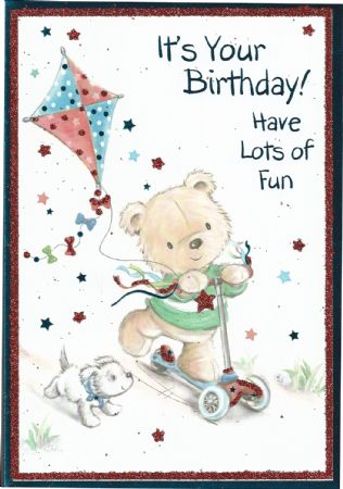 Iparty Open Male Birthday Cards Clearance Price Open Birthday