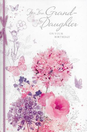 Simon Elvin Large Birthday Cards Granddaughter Female Relations