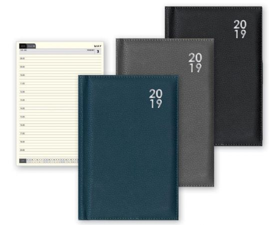 2019 A5 week to view premium hardback diaries