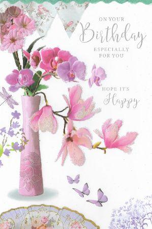Simon Elvin Open Female Birthday Cards Open Birthday And Belated