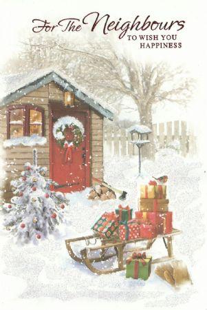 Simon elvin traditional christmas cards neighbours wholesale simon elvin traditional christmas cards neighbours m4hsunfo