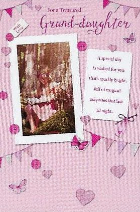 Simon Elvin Greetings Birthday Cards Granddaughter