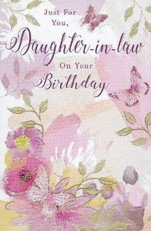 Simon Elvin Greetings Large Birthday Cards Daughter In Law