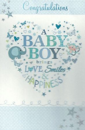 congratulations baby boy card - Helomdigitalsite