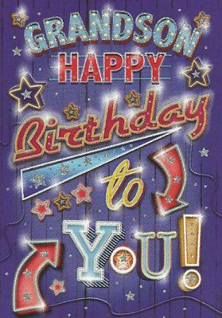 Simon Elvin Greetings Large Grandson Birthday Cards Simon Elvin