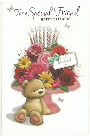 Simon Elvin Large Cute Special Friend Birthday Cards New Arrivals
