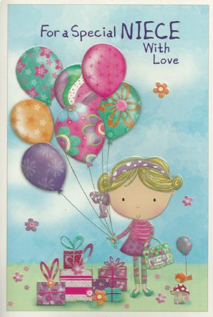Simon Elvin Cute Birthday Cards Niece