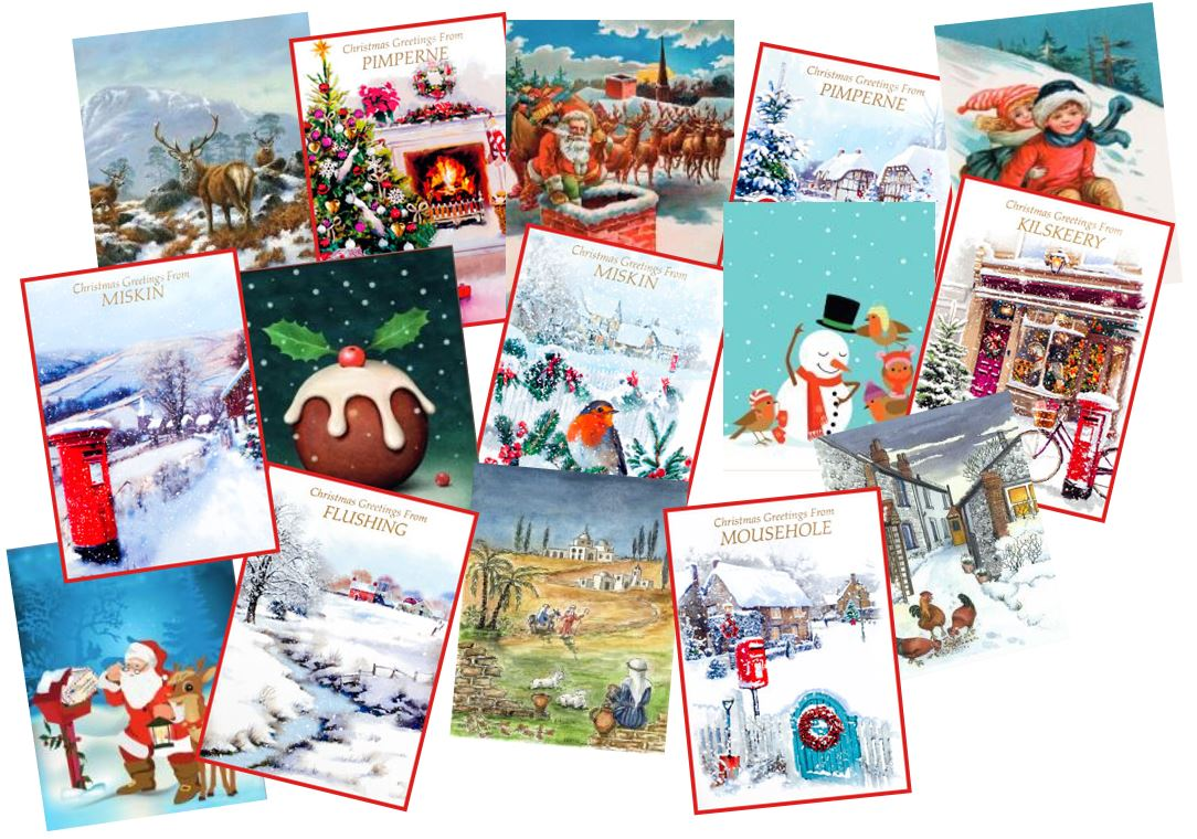 Christmas Town Cards From Andersons Wholesale