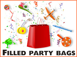 Wholesale Pre filled party bags