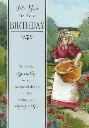 Silverline Open Fine Art Birthday Cards
