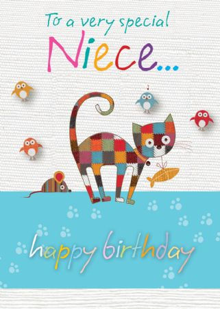 Bon bon birthday cards niece wgc bb206 female relations and friends bon bon birthday cards niece m4hsunfo
