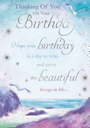 Silverline Open Female Birthday Cards Wgc Fb025aa Sympathy