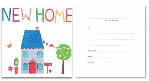 Pack Of 6 Simon Elvin New Home Announcement Cards Wss Dp213t New