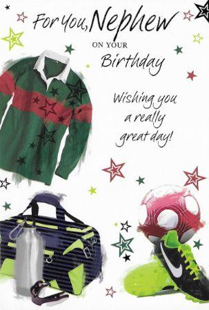 Simon Elvin Birthday Cards Nephew