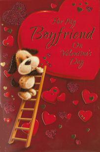 Simon Elvin Cute Valentine Cards Boyfriend Wgcv Vse24771 Boyfriend