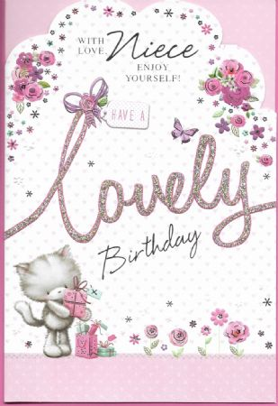 Simon Elvin Birthday Cards Niece