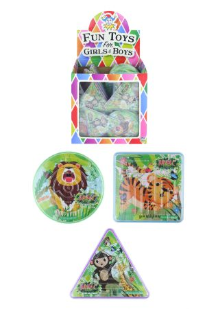 Party Bag Filler for Boys /& Girls Mini Rainbow Effect Springs 6 Assorted Designs Childrens Prizes Pack of 6