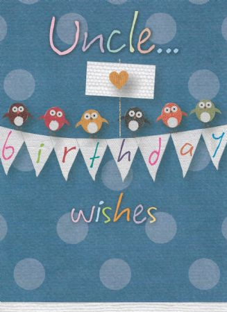 Bon Birthday Cards Uncle