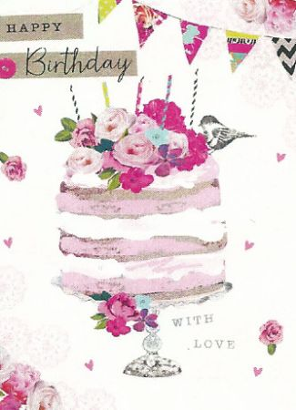 Carson Higham Open Female Birthday Cards Wgc Chp262 Open