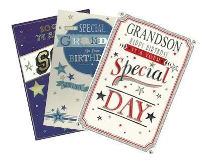 144 Male Relation Birthday Cards Wgc Asst 22 Starter Packs Flat