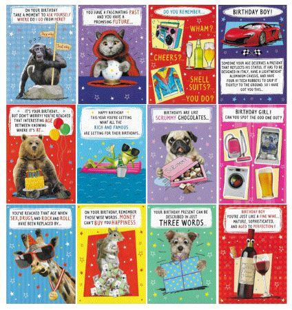 Wholesale Humorous Greeting Cards