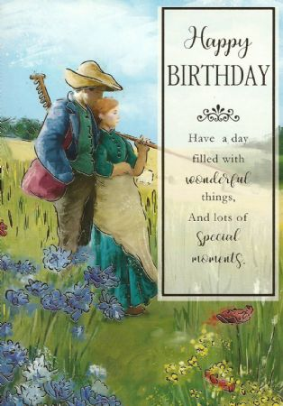 Silverline Open Fine Art Birthday Cards