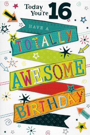 Simon Elvin Birthday Cards Age 16