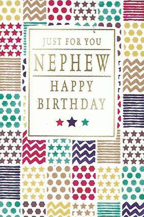 Simon Elvin Greetings Birthday Cards Nephew