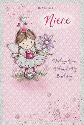 Design Studio Birthday Cards Niece