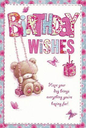Simon Elvin Greetings Open Female Birthday Cards Wgc 50gb110 The