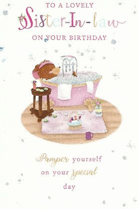 Simon Elvin Birthday Cards Sister In Law