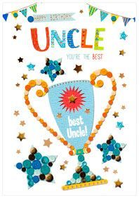 Simon Elvin Birthday Cards Uncle
