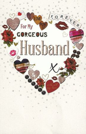 Simon Elvin Greetings Large Birthday Cards Husband